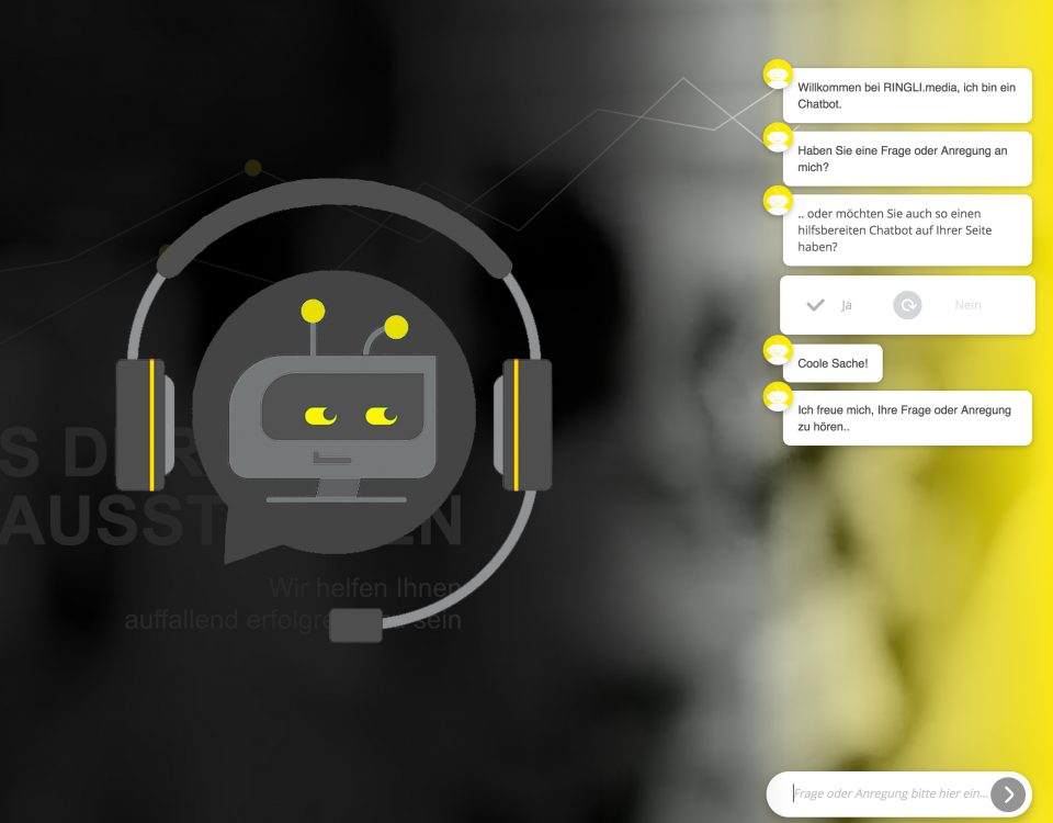 chatbot website gründe tipps tricks ringli.media