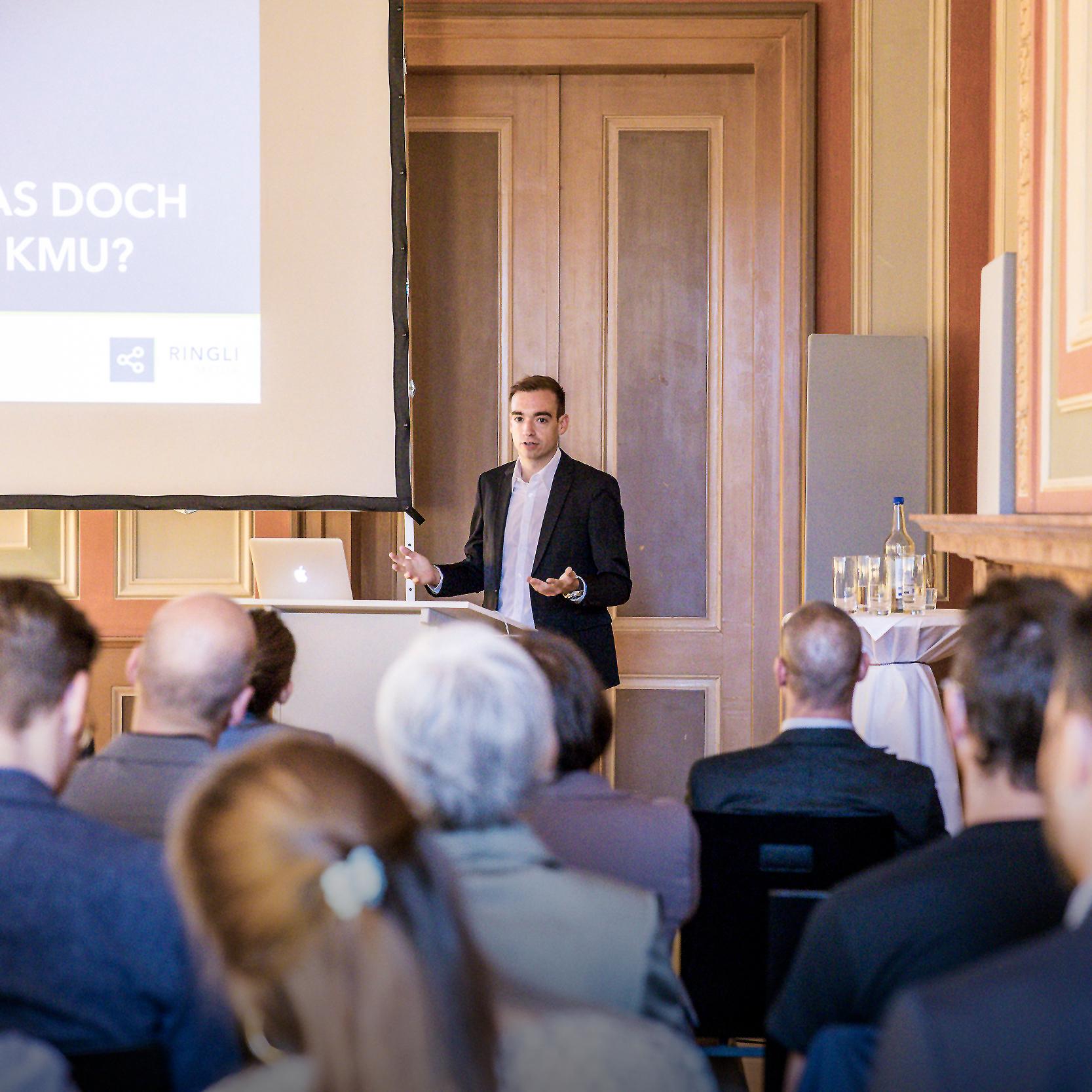 Rückblick: RINGLI.media Business Brunch Vortrag bei ICT Schaffhausen